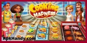 COOKING MADNESS MOD APK 2021 Download (Unlimited Diamond, Energy) 1