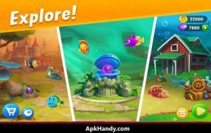 Fishdom Mod Apk Latest Version (Unlimited Gems) Download 2